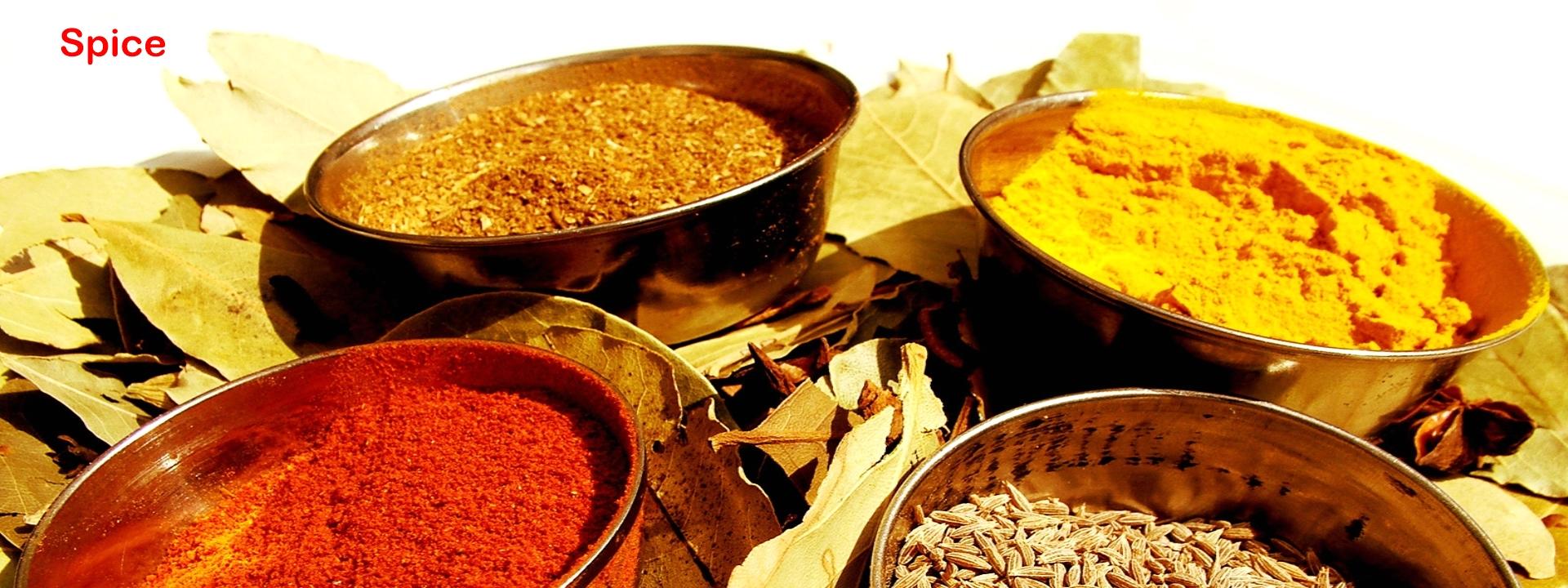 Spice, Basil, Cumin, Chilli
